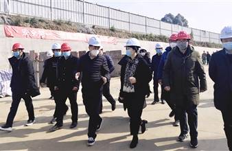 新津县委唐书记率队调研海nba球迷网在线观看邓双项目复工情况